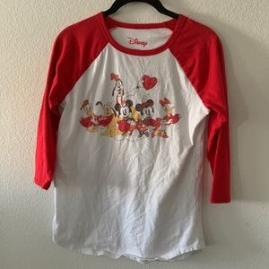 Disney Mickey Mouse and Friends Baseball Tee